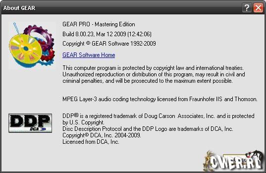 GEAR Pro Mastering Edition 8.00.23