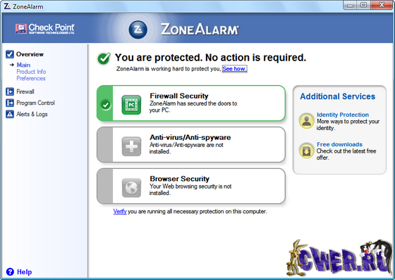 ZoneAlarm Free 9.1.007.002