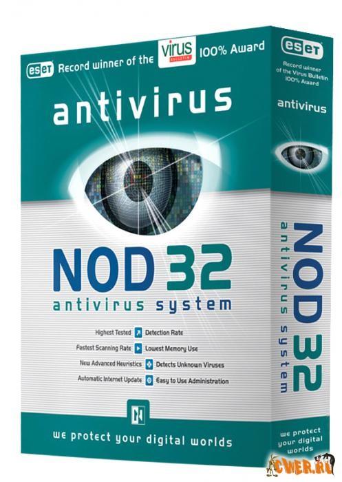 ESET NOD32 Antivirus BUSINESS EDITION 4.0.314 (x32/x64) [Английский+Русский] |Ключи не требуются|