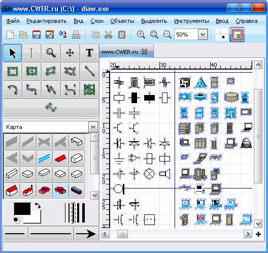 Dia - это бесплатная программа