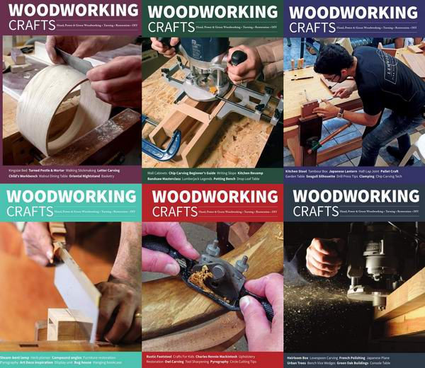 Woodworking Crafts №59-64 January-December 2020 Подшивка 2020 Архив 2020
