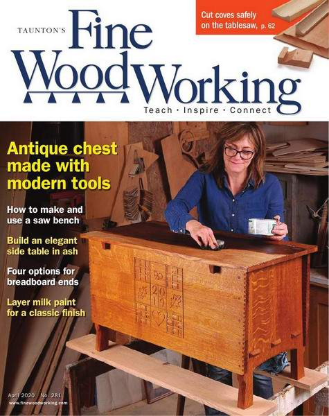 Fine Woodworking №281 March-April март-апрель 2020