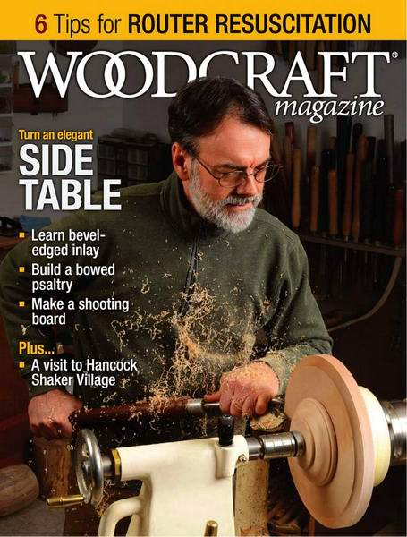 Woodcraft Magazine №94 April-May 2020 USA
