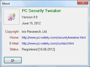 العملاق PC Security 9.9 لقفل سطح المكتب والبرامج والملفات بكلمة سر