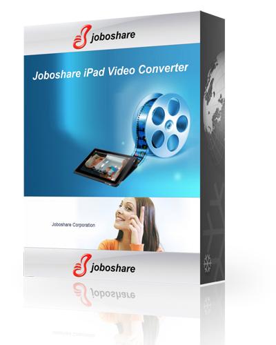 Joboshare iPad Video Converter 3.0.0.0718