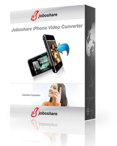 Joboshare iPhone Video Converter 3.0.1.0804