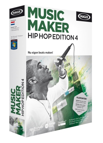 MAGIX Music Maker Hip Hop Edition 4 v6.0.0.6