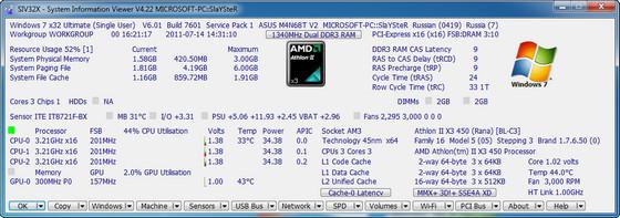System Information Viewer 4.22