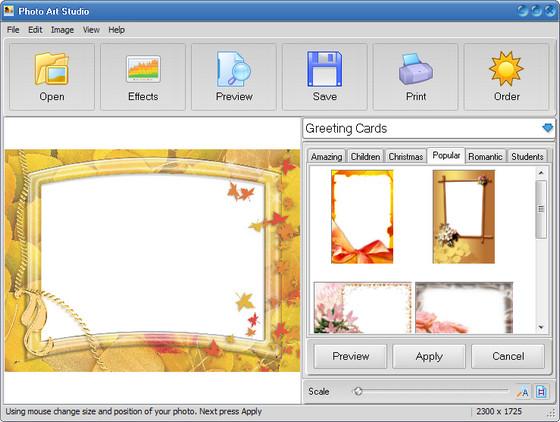 AMS Software Photo Art Studio 3.35