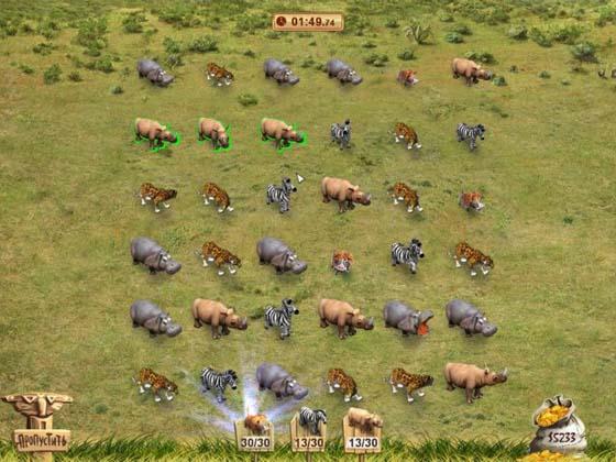 Звери Африка игра 2