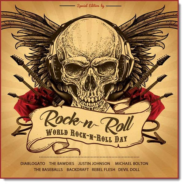 Rock'n'Roll. World Rock'n'Roll Day (2017)