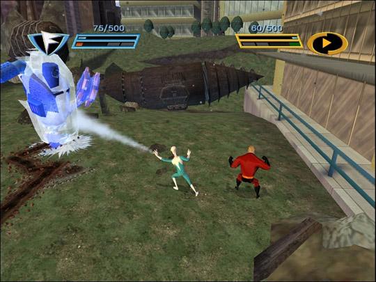 Суперсемейка. Подземная битва (2005)
