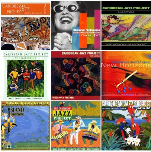 Caribbean Jazz Project feat. Diane Schuur: Collection 10 Albums (1995-2008)