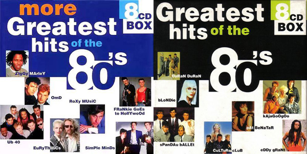 скачать More Greatest Hits Of The 80's 8CD Box (1998-2000)