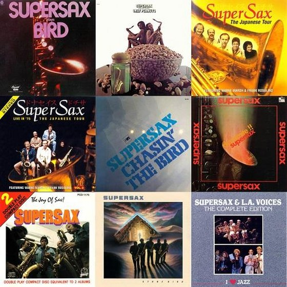 скачать Super Sax. Collection 9 Albums (1973-1990)
