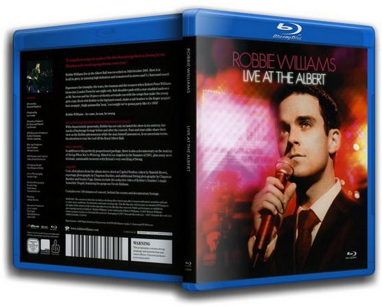 Концерт Robbie Williams: Live at the Albert (2001) BDRip 720 {RUS}
