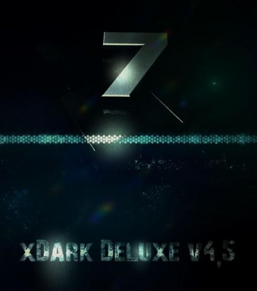 Windows 7 xDark Deluxe v4.5 RG