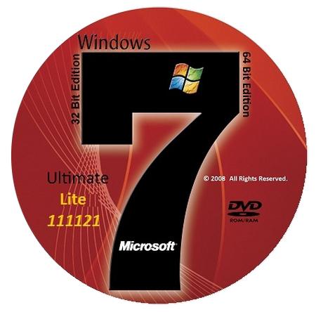 Microsoft Windows 7 Ultimate SP1 Lite Update 111121