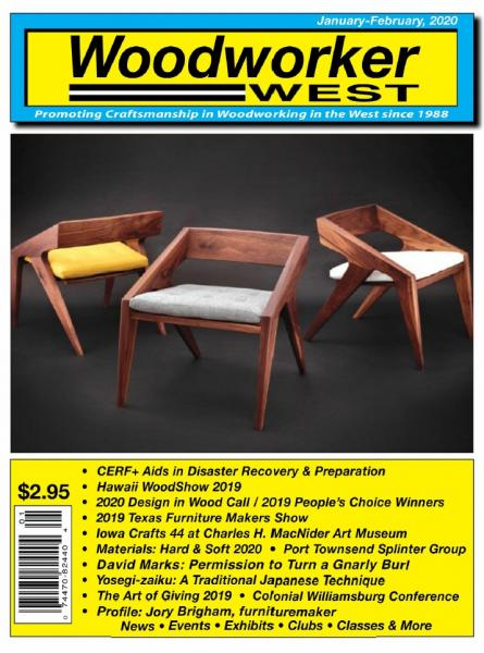 Woodworker West №1 (January-February 2020)