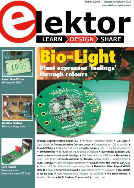 Elektor Electronics №1-2 (January-February 2018) USA