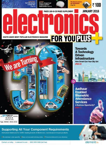 Electronics For You №1 (January 2018)
