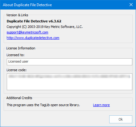 Duplicate File Detective 6.3.62.0 Enterprise Edition