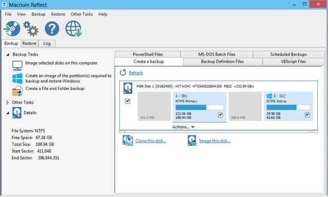 Macrium Reflect Workstation / Server Plus