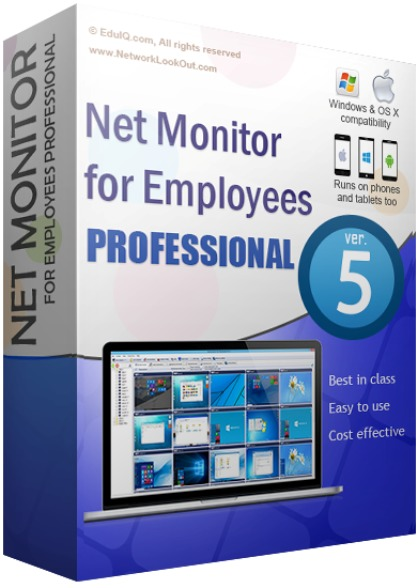 EduIQ Net Monitor for Employees Professional