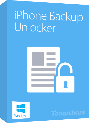 Tenorshare iPhone Backup Unlocker Profesional 4.1.0.0