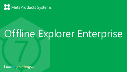 MetaProducts Offline Explorer Enterprise