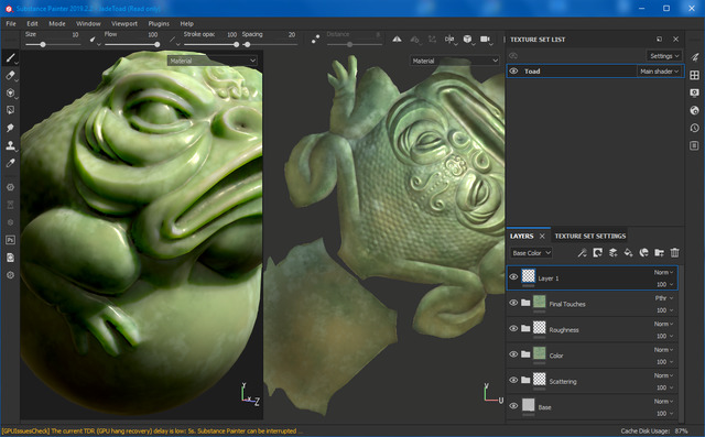 Allegorithmic Substance Painter 2019
