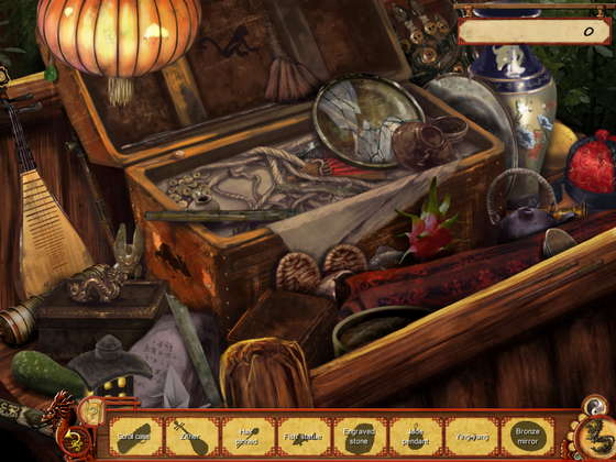 скриншот игры Judge Dee: The City God Case