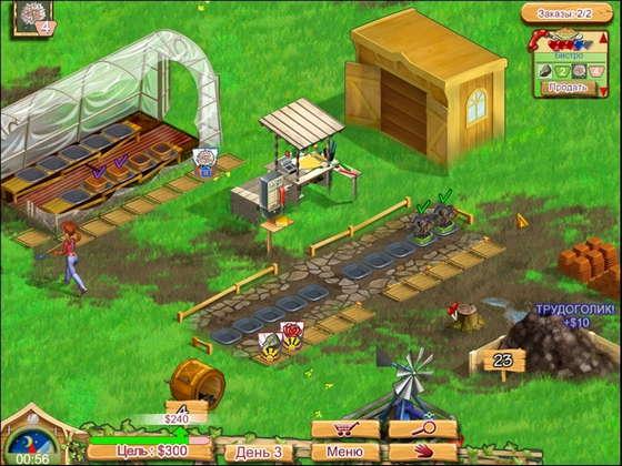 картинка к игре Королева фермы