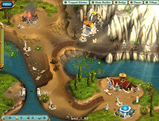 скриншот игры Legends of Atlantis: Exodus