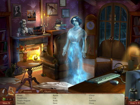 скриншот игры Midnight Mysteries 4: Haunted Houdini Collector's Edition