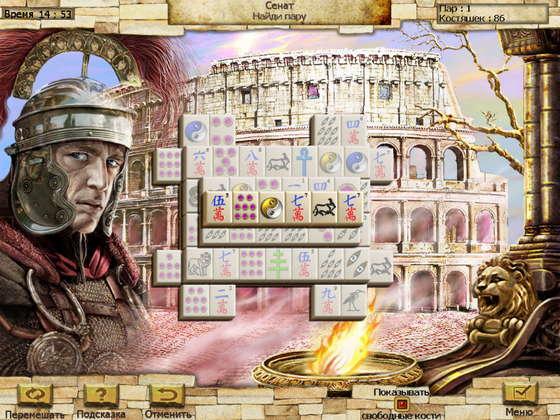 скриншот игры Величайшие сооружения. Маджонг