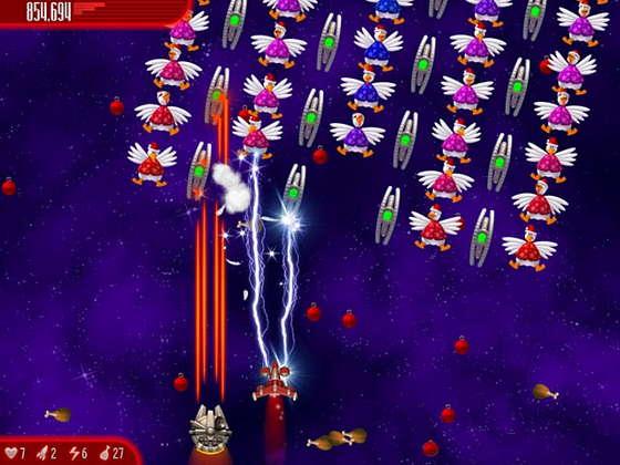 картинка к игре Вторжение кур IV. Полный омлет. Новогоднее издание