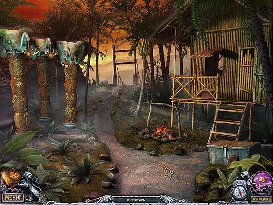 скриншот игры Дом 1000 дверей. Длань Заратустры. Коллекционное издание
