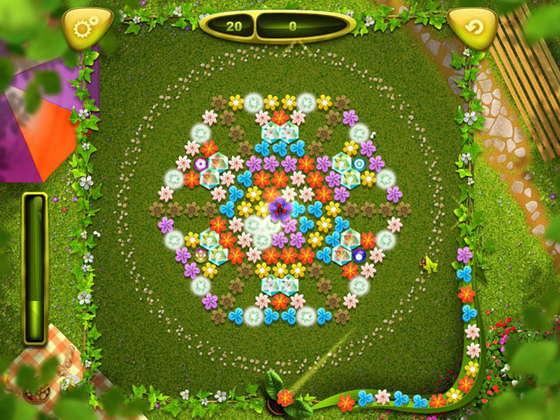 скриншот игры Magic Petals