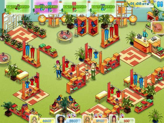 скриншот игры Безумный шопинг
