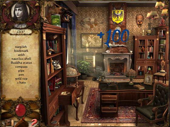скриншот игры Mystery Series: A Vampire Tale