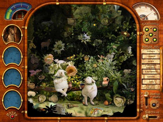скриншот игры Три маленькие белые мышки. Спящая красавица и черный дракон