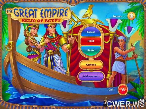 скриншот игры The Great Empire: Relic of Egypt
