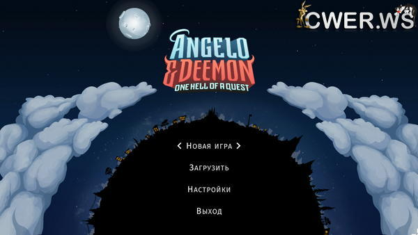 скриншот игры Angelo and Deemon: One Hell of a Quest