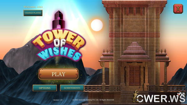 скриншот игры Tower of Wishes