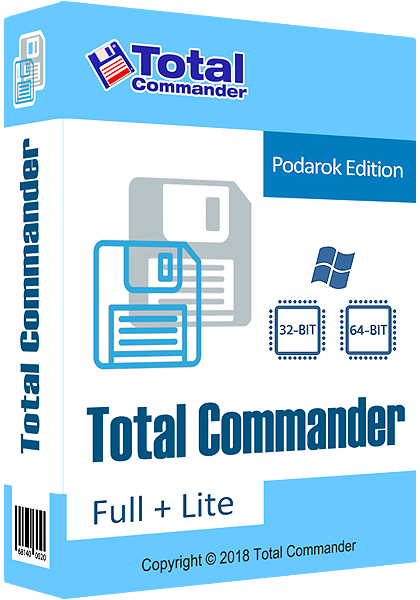 Total Commander 9.22a Podarok Edition Full / Lite