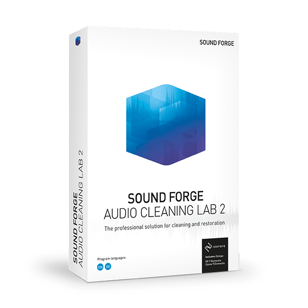 MAGIX SOUND FORGE Audio Cleaning
