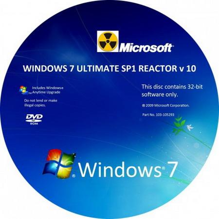 Windows 7 Ultimate SP1 Reactor v10