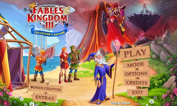 Fables of the Kingdom III Collectors Edition
