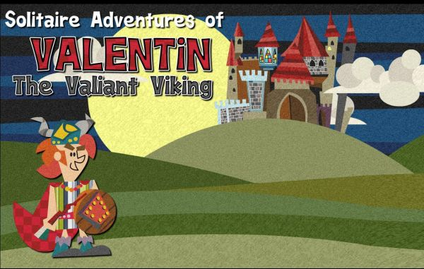Solitaire Adventures of Valentin The Valiant Viking